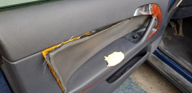 Tapizado Panel de puerta Audi